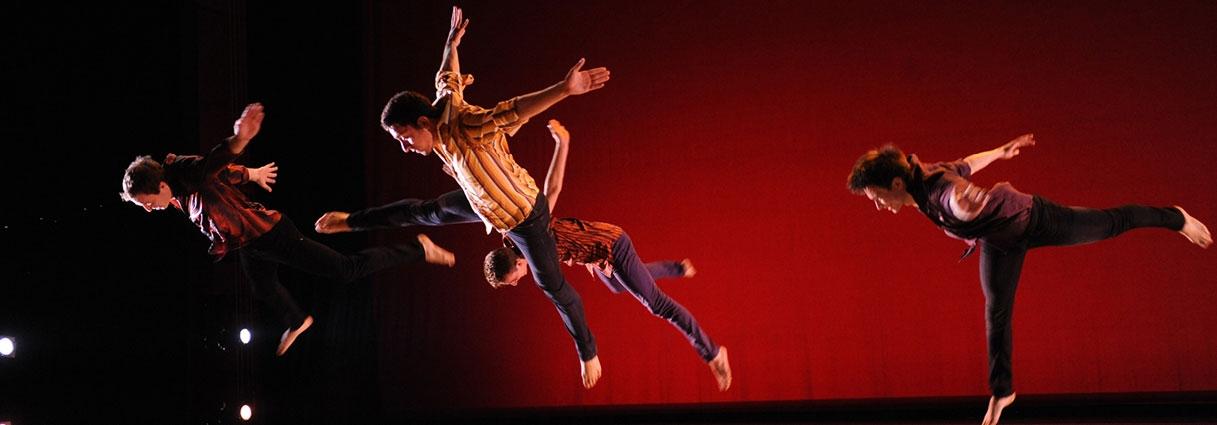 Dancers performing at Dance Gala